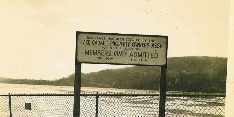 Lake Carmel Property Owners